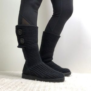 Ugg Knit Button Boots
